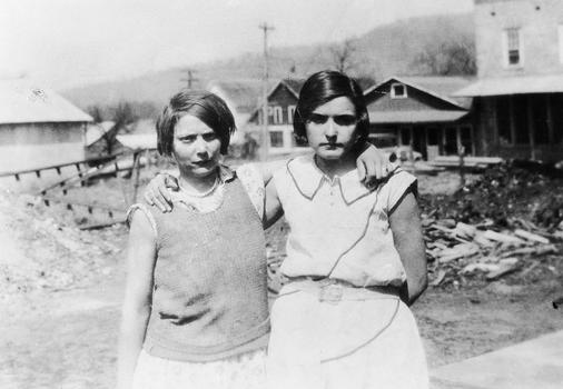 The Scottsboro accusers Victoria Price and Ruby Bates.