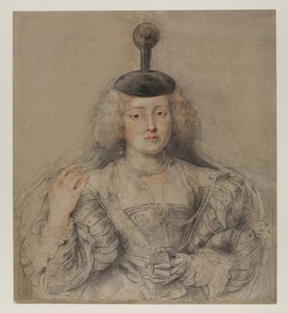 Peter Paul Rubens (1577–1640). Helena Fourment, c. 1630–31