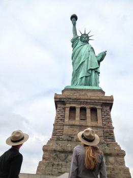 After being closed for a year, the interior of the Statue of Liberty will be open to visitors beginning Sunday, the monument's 126th birthday.