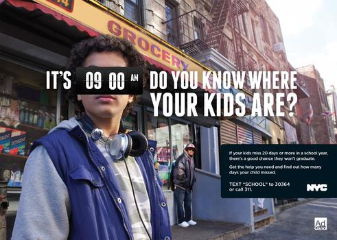 "Mayor Bloomberg's ""School Everyday"" PSA"
