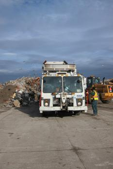 The Department of Sanitation has mobilized to help the city cleanup from Sandy.