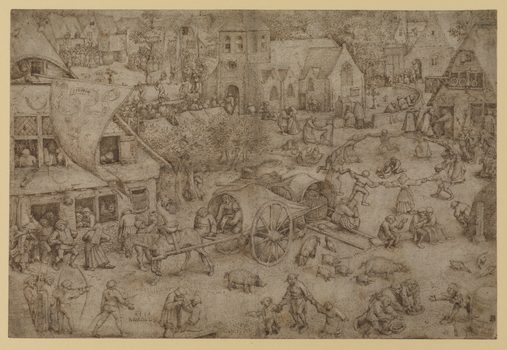 Pieter Bruegel the Elder (1525–1569). Kermis at Hoboken, 1559