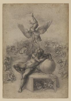 Michelangelo Buonarroti (1475–1564). The Dream (Il Sogno), c. 1533