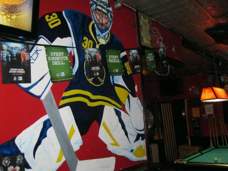 NYC hockey bars are also seeing smaller crowds, in part, due to the lockout.
