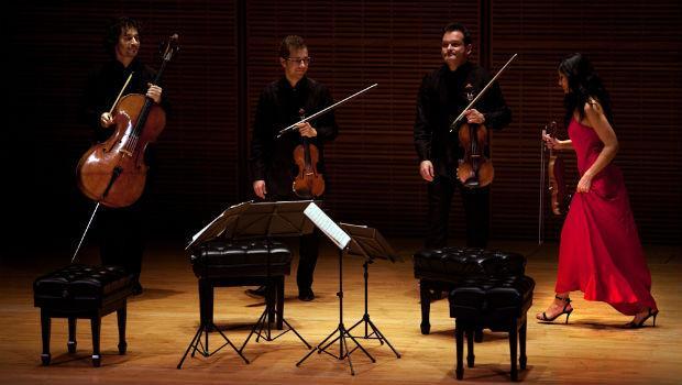 The Belcea Quartet plays at Carnegie's Zankel Hall