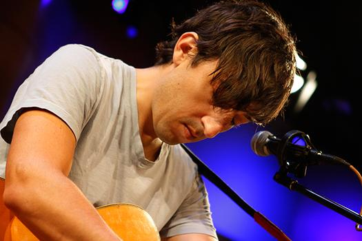 Grizzly Bear's Ed Droste performs live at WNYC's Greene Space.