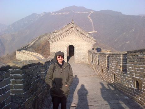 Brian at the Great Wall