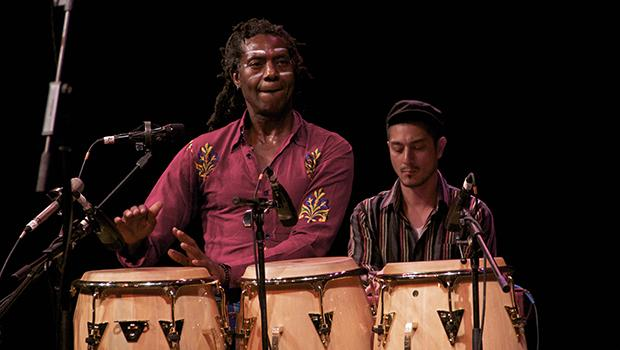 Amayo, lead singer and percussionist  for Antibalas.