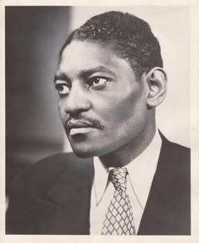 Scottsboro defendant Heywood Patterson in a publicity photo for his book Scottsboro Boy, published in June 1950.