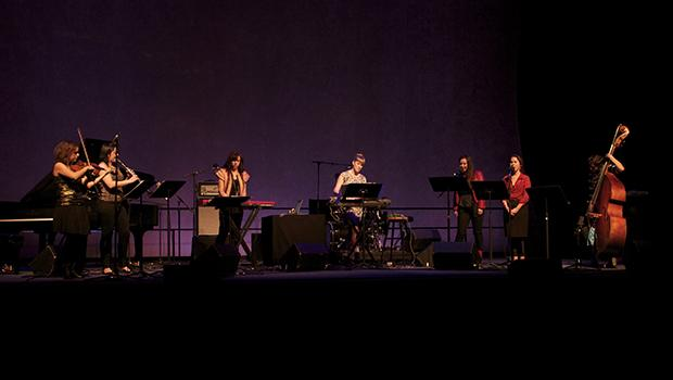 The ensemble Victoire at the WFC Winter Garden on Oct. 24, 2012.
