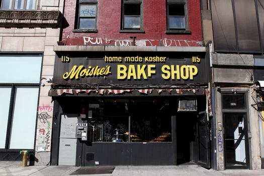 Moishe's Bake Shop on 2nd Ave. is in the new historic district.