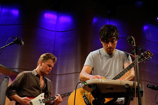 Grizzly Bear at WNYC's Greene Space.