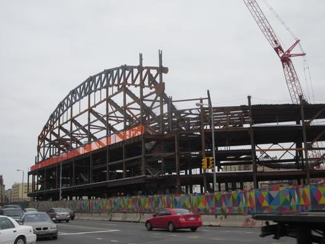 Barclays Center in early April 2011.