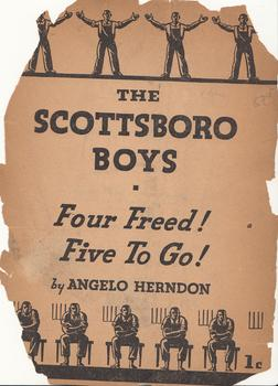 Cover of a 1937 pamphlet by civil rights activist Angelo Herndon