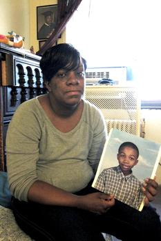 Iasia Tyre, 37, said her son Kaiim used to call her 'Muffin.'