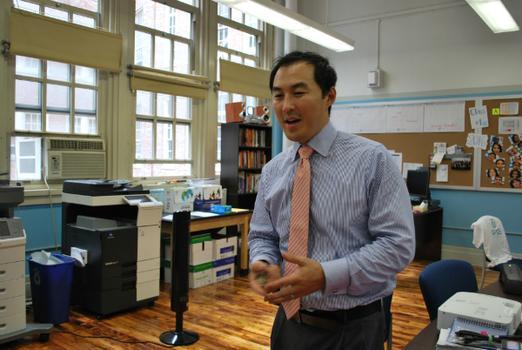 Seung Yu, Acting Interim Principal at the Academy for Software Engineering