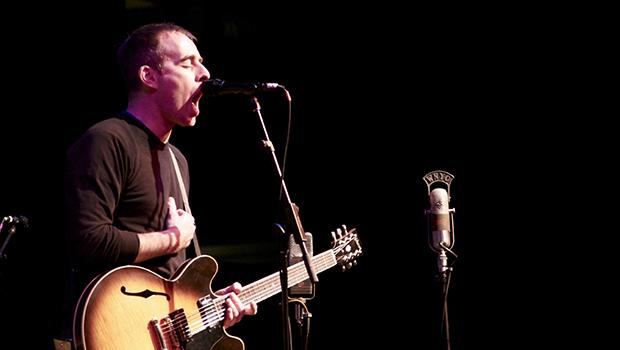 Indie musician Ted Leo interprets the music of South African jazz musician Hugh Masekela at the World Financial Center's Winter Garden on Oct. 23, 2012.