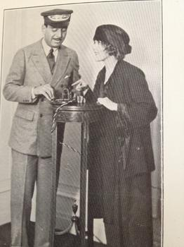 Silent film stars Douglas Fairbanks and Mary Pickford bringing publicity to the association.