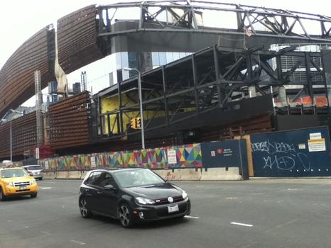Barclays Center by late April 2012.