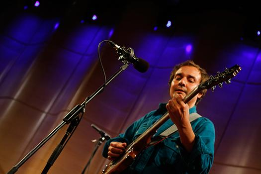 Grizzly Bear's Daniel Rossen performs live at WNYC's Greene Space.