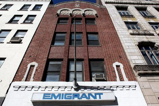 A former Yiddish Theater and the Fillmore East is now an Emigrant Savings Bank, and is in historic district.