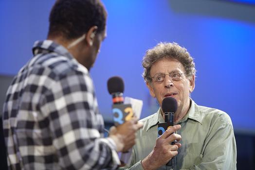 Philip Glass talks with host Terrance McKnight.