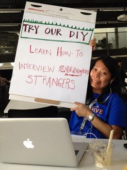 How to interview strangers (DIY Video)