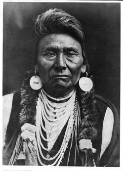 Chief Joseph of the Nez Perce, 1903.
