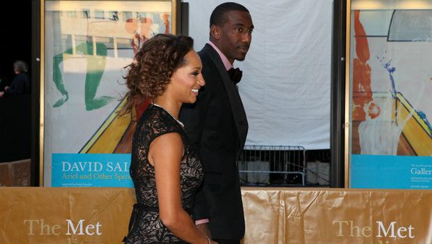 Knicks forward Amare Stoudemire at the opening night of the Metropolitan Opera