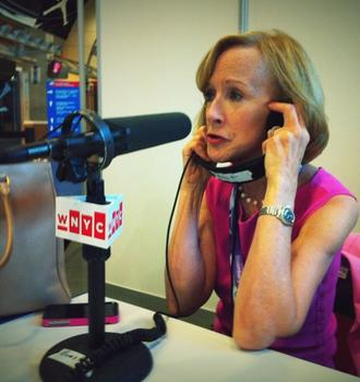 From Radio Row in Charlotte: Judy Woodruff, PBS Newshour