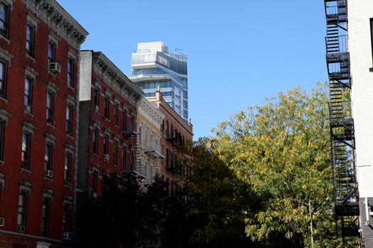 East Village tenements buildings