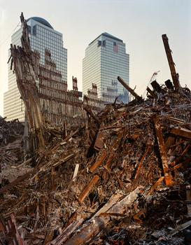 Image from <em>Aftermath,</em> South Tower looking west.