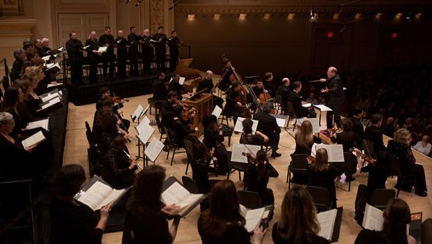 Les Violons du Roy with the choir La Chapelle de Québec perform Bach's 'St. John Passion.'