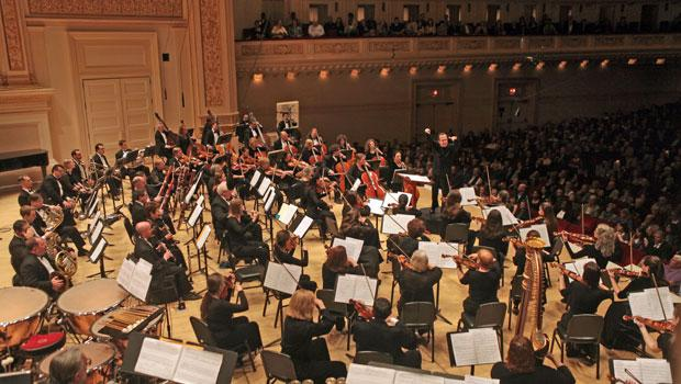 The Albany Symphony from behind-the-scenes at Carnegie Hall.