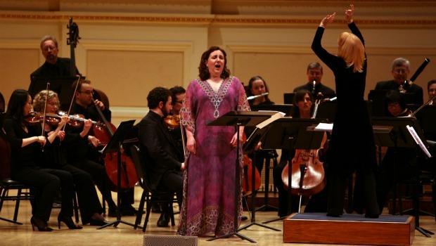 Dawn Upshaw was the soloist in Maria Schneider's  'Carlos Drummond de Andrade Stories.'