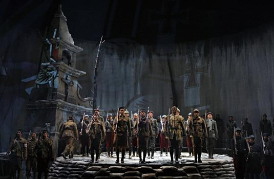 Ensemble in the Minnesota Opera production of Silent Night