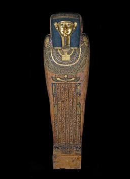 Inner coffin of the ancient Egyptian priest Hornedjitef.