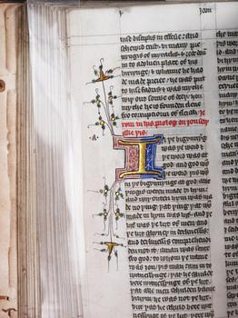 New Testament Manuscript on Vellum, c. 1440