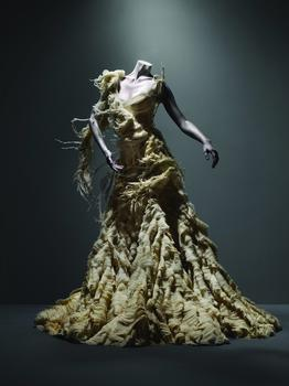 Alexander McQueen (British, 1969-2010) Dress, Irere, spring/summer 2003