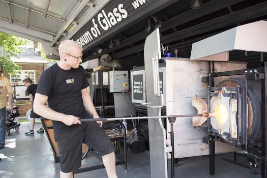 The Corning Museum of Glass presents GlassLab at Governors Island