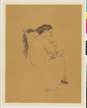 Pablo Picasso, <em>La Coiffure</em>, 1906.