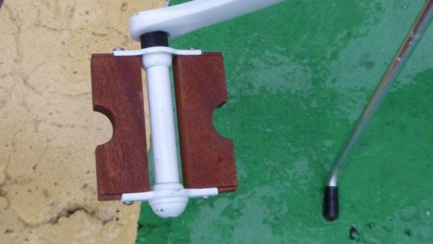 The heel-savvy pedal.