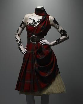 Alexander McQueen (British, 1969-2010) Ensemble, Widows of Culloden, autumn/winter 2006–7