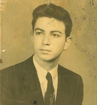 Leonard at age 16.
