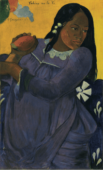 Paul Gauguin, <em>Vahine no te vi (Woman of the Mango)</em>, 1892.