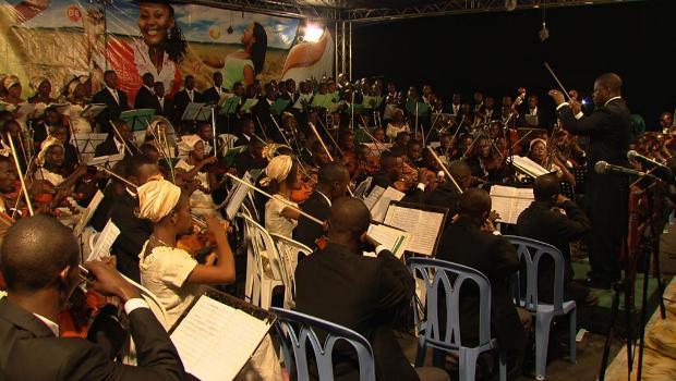 The Kinshasa Symphony Orchestra.