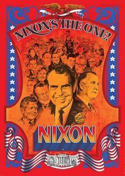 1968 Richard Nixon Campaign Poster