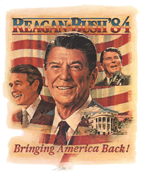 1984 Reagan Re-Election Poster