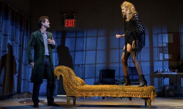 Hugh Dancy and Nina Arianda in the Broadway production of 'Venus in Fur.'