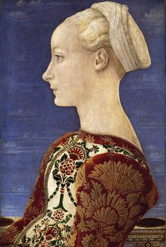 Antonio del Pollaiuolo (Florence, 1431-1498, Rome).  Portrait of a Lady